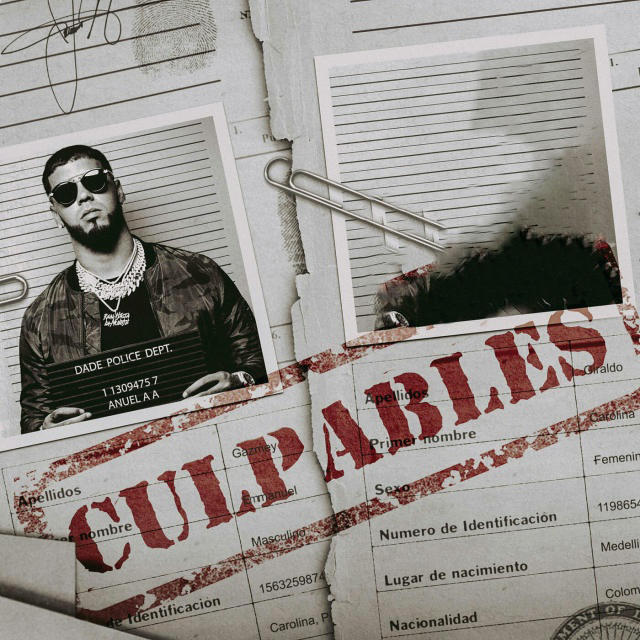 دانلود آهنگ Karol G & Anuel AA به نام Culpables
