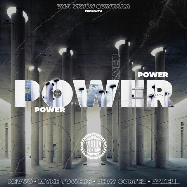 دانلود آهنگ Kevvo ft. Myke Towers, Jhay Cortez & Darell به نام Power