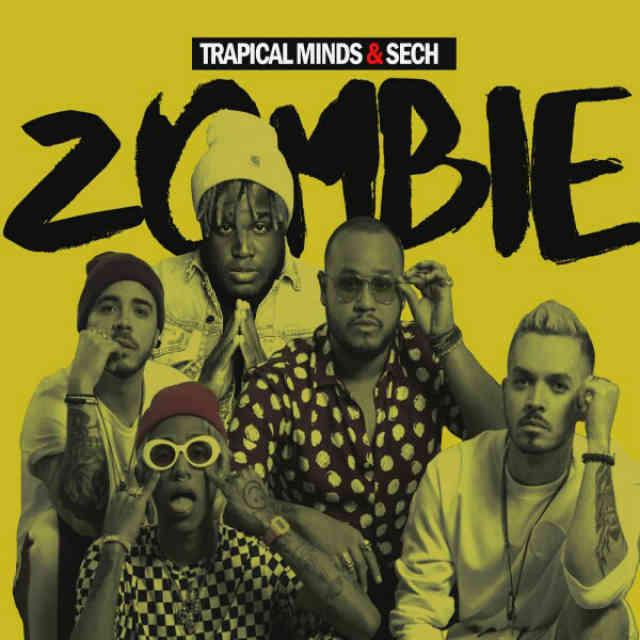 دانلود آهنگ Trapical Minds & Sech به نام Zombie