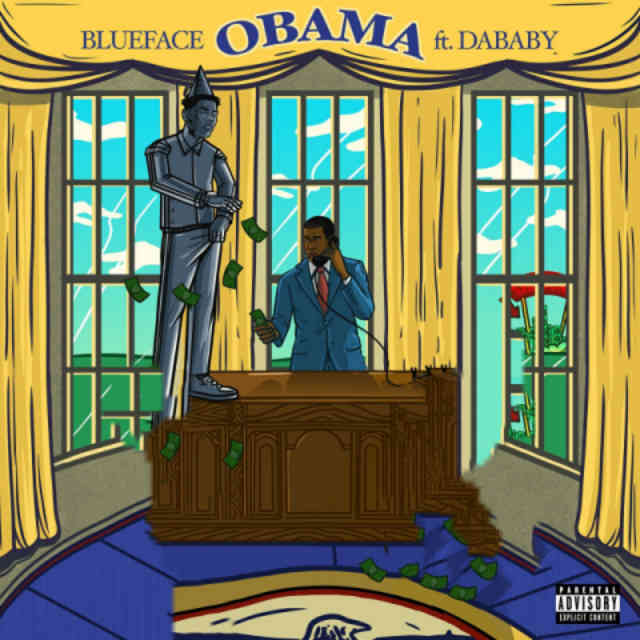 دانلود آهنگ Blueface ft. DaBaby به نام Obama