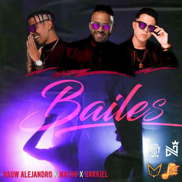دانلود آهنگ Rauw Alejandro ft. Nacho & Darkiel به نام Bailes
