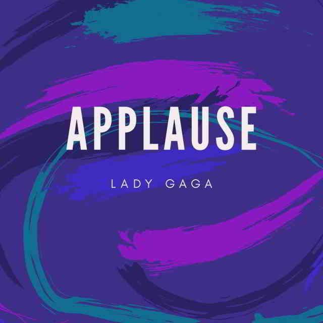 دانلود آهنگ Lady Gaga به نام Applause
