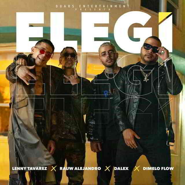 دانلود آهنگ Rauw Alejandro, Dalex & Lenny Tavárez به نام Elegí