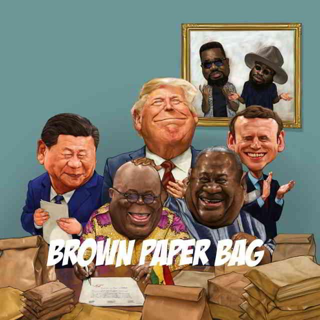 دانلود آهنگ Sarkodie ft. M.anifest به نام Brown Paper Bag