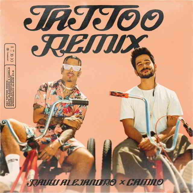 دانلود آهنگ Rauw Alejandro & Camilo به نام Tattoo (Remix)
