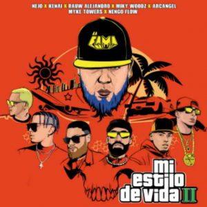 دانلود آهنگ Ñejo, Miky Woodz & Myke Towers به نام Mi Estilo de Vida II