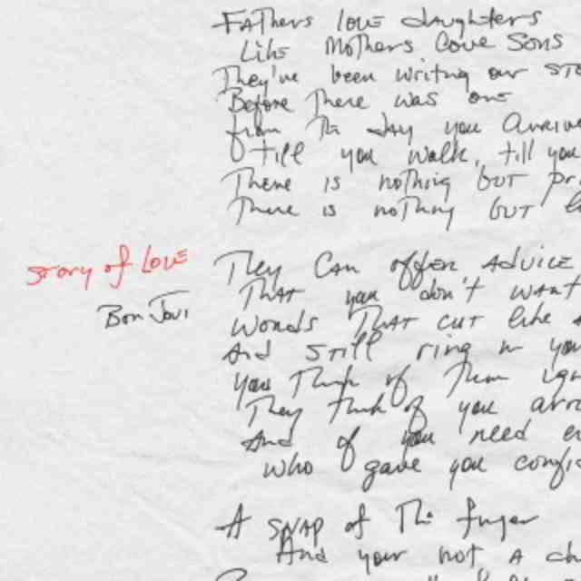 دانلود آهنگ Bon Jovi به نام Story of Love (Radio Edit)